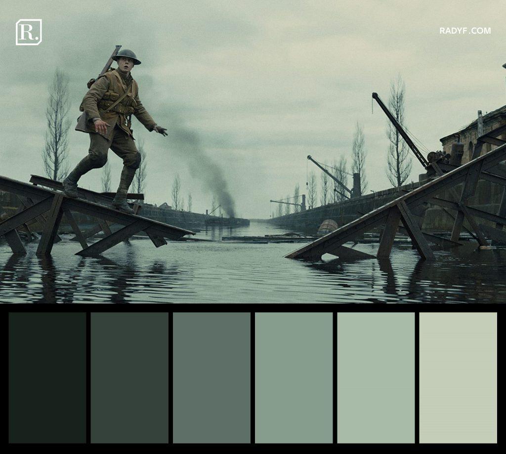 قوائم الألوان - Color Palette
