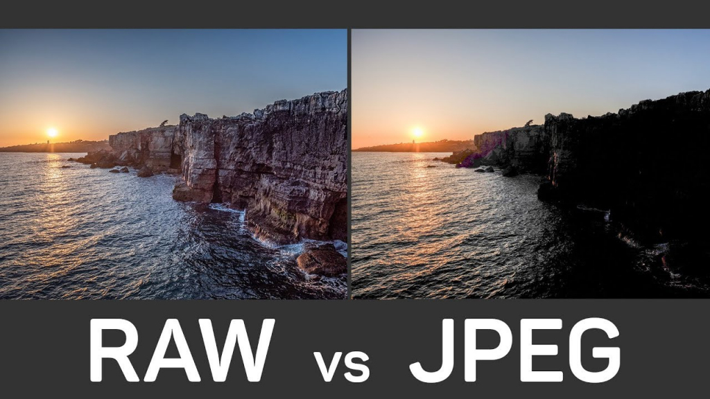 ماهي ملفات RAW في التصوير الفوتوغرافي وما الفرق بينها وبين ملفات JPEG