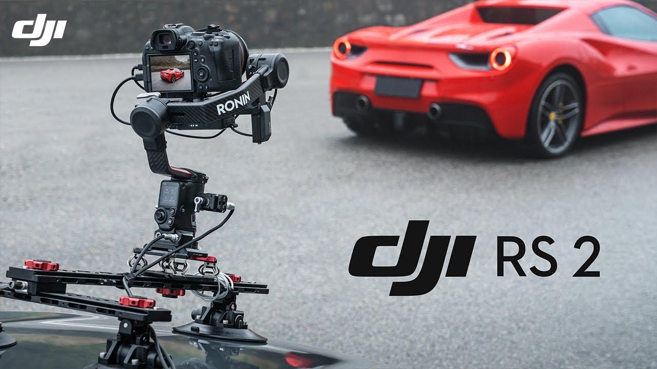 تعرف إلى DJI RS 2 الجيل الجديد من مثبتات الحركة