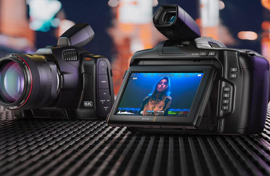 بلاك ماجيك تعلن عن كاميرتها الجديدة BMPCC 6K Pro