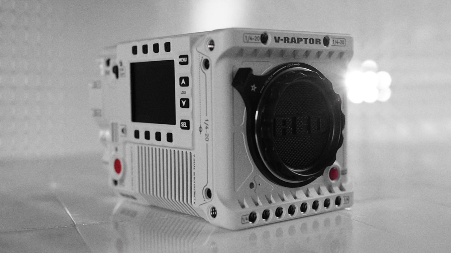 الإعلان عن كاميرا V-RAPTOR الجديدة كلياً من RED